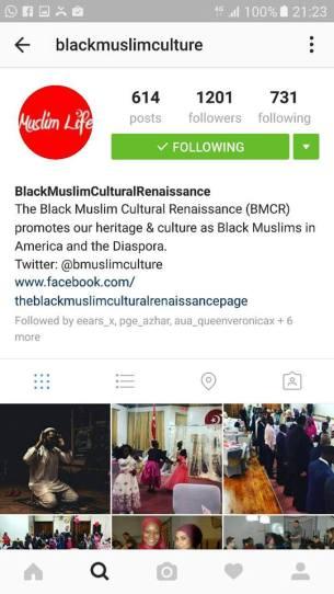 black muslim culture